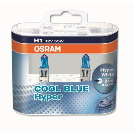 Галогеновая лампа Osram COOL BLUE HYPER OS 62150 CBH Компл (2шт)