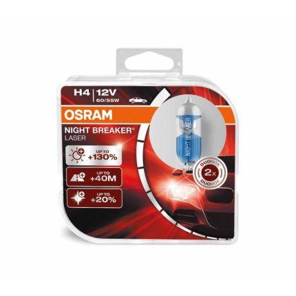 Галогеновая лампа Osram Night Breaker Unlimited OS 64193 NBU HCB (H4) 1 шт